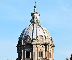 church, italy, and rome image