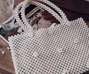details, handbag, and gloves image
