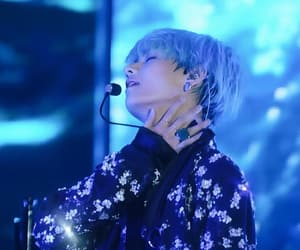 blue hair, bts, and bangtan image