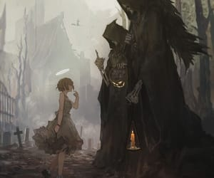 Dark Angel, girl, and fantasy image