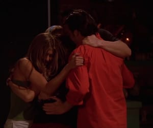 chandler, hug, and friends image