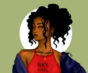 Afro, alternative, and american image