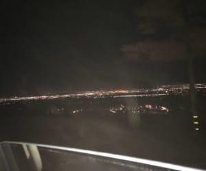 dark, night, and lights image