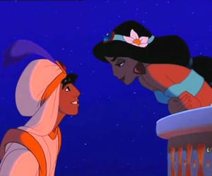aladin, amour, and jasmine image