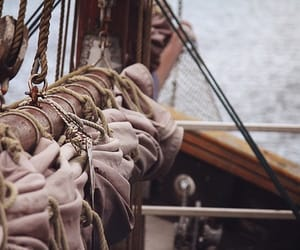 pirate, sail, and ship image