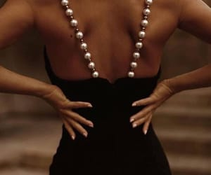 fashion, pearls, and style image