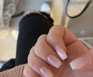 beauty, pink, and natural nails image