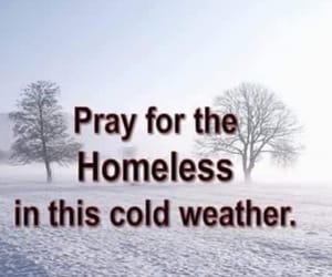 cold, winter, and god image