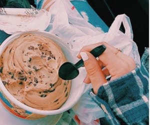 cookie dough, food, and vsco image