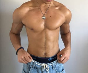 abs, body, and men image