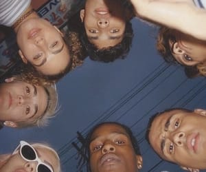 asap rocky, aesthetic, and friends image