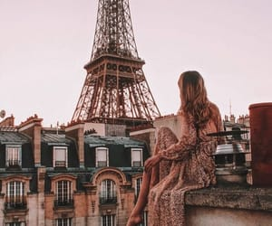 architecture, eiffel tower, and style image
