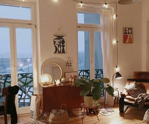 balcony, bedroom, and comfy image