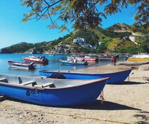 colombia, playa, and mar image