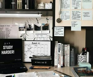 article, calendar, and desk image