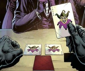 batman, comic, and joker image