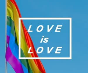 love, pride, and lgbt image