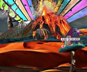 artist, magic, and mushroom image