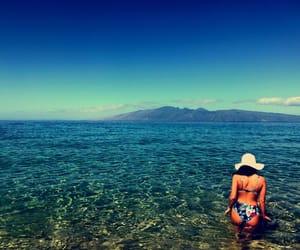 hawaii, maui, and ocean image