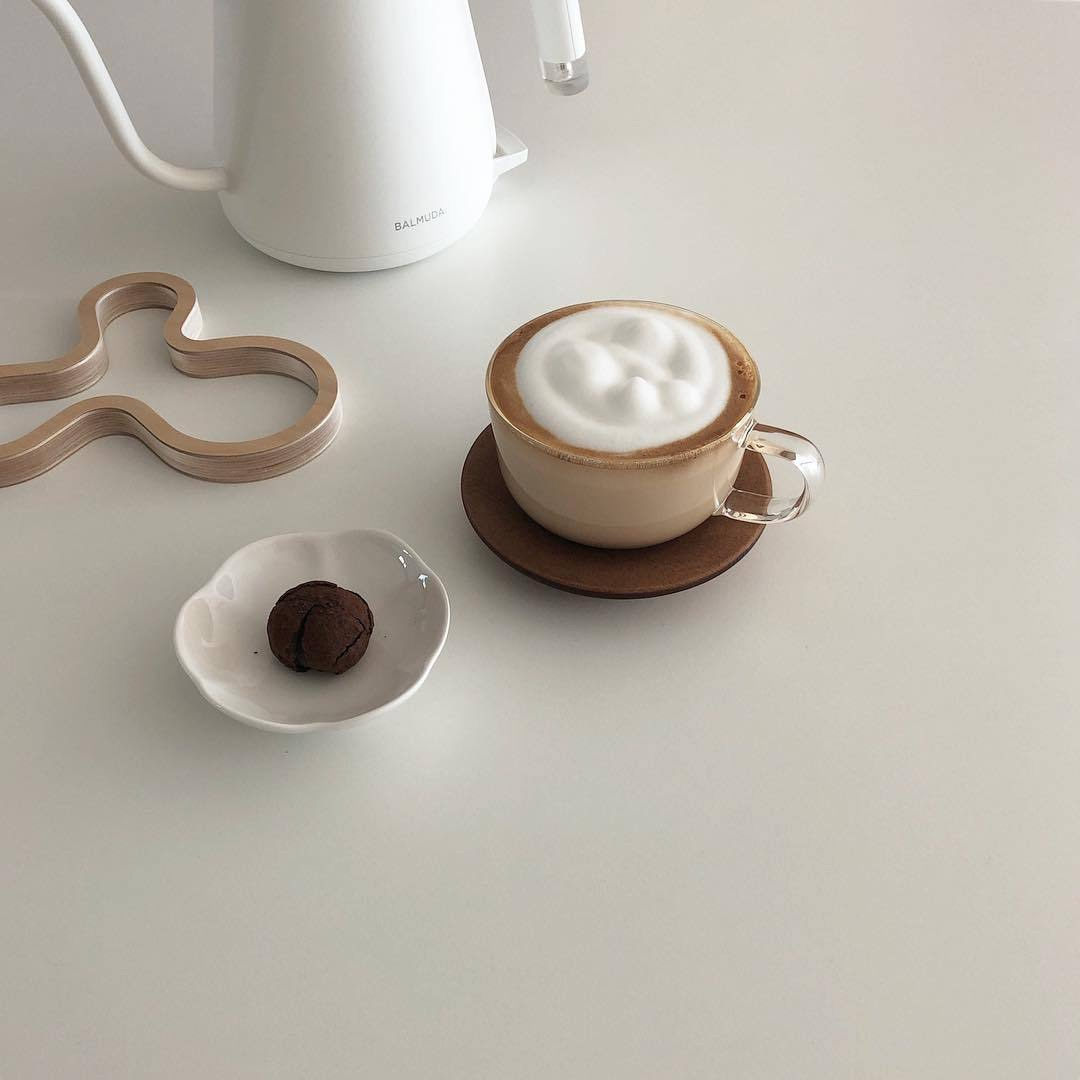 aesthetic, theme, and coffee image
