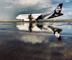 plane, new zealand, and planes image