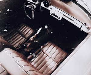 car, convertible, and vintage image