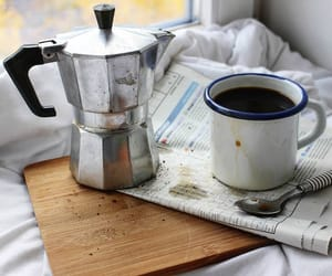 breakfast, coffee, and delicious image