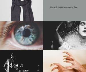 aesthetic, blue eyes, and teen wolf image