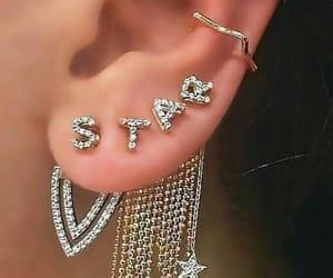 diamonds, earrings, and girly image