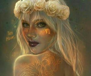 virgo, zodiac, and astrology image