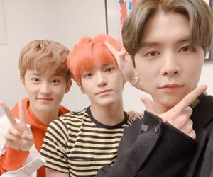 johnny, nct, and mark lee image