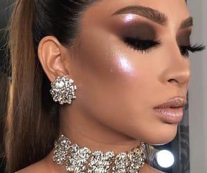 beauty, eye makeup, and eyeshadow image