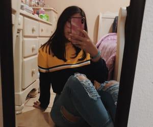 outfit, tumblr, and pantalon_roto image