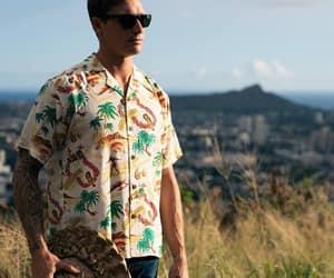 fashion, aloha shirt, and style image