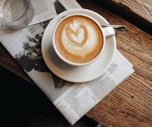 cappuccino, coffee, and coffee break image