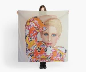 fashion art, twiggy, and supermodels image