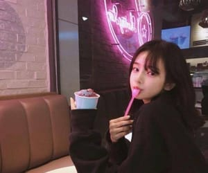 aesthetic, ice cream, and korean image