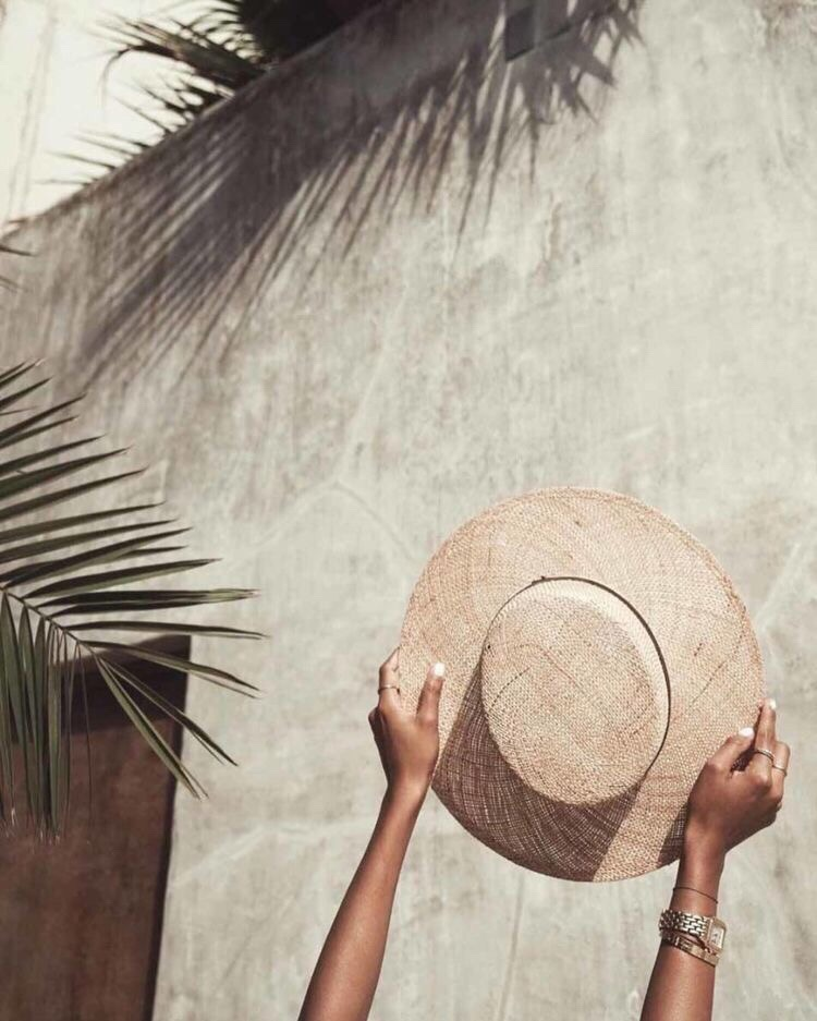 summer and hat image