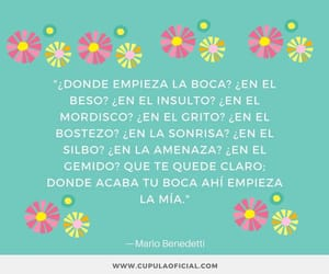 palabras, benedetti, and texto image