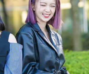 dreamcatcher, purple hair, and 유빈 image