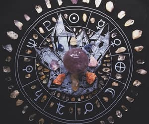 witch, crystal, and magic image