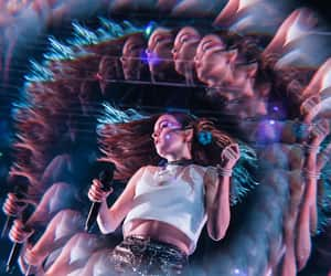 chvrches, synthwave, and laurenmayberry image