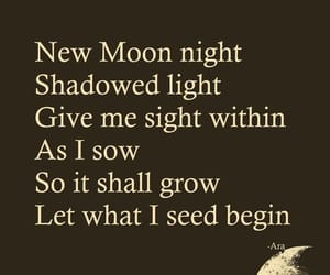 moon, quote, and night image