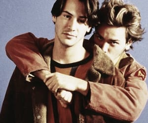keanu reeves and river phoenix image