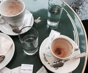 coffee, cafe, and paris image