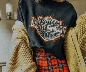 grunge, harley davidson, and metal image