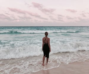 beach, cancun, and lifestyle image