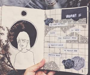 aesthetic, Collage, and drawing image