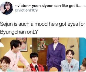 meme, sejun, and byungchan image