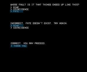 computer, fate, and cyberpunk image